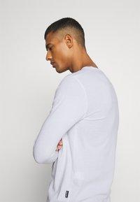 YOURTURN - UNISEX - Bluzka z długim rękawem - white - 3