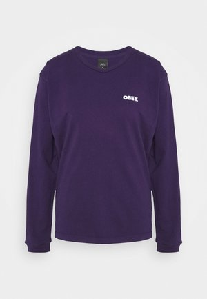BOLD - Long sleeved top - eggplant