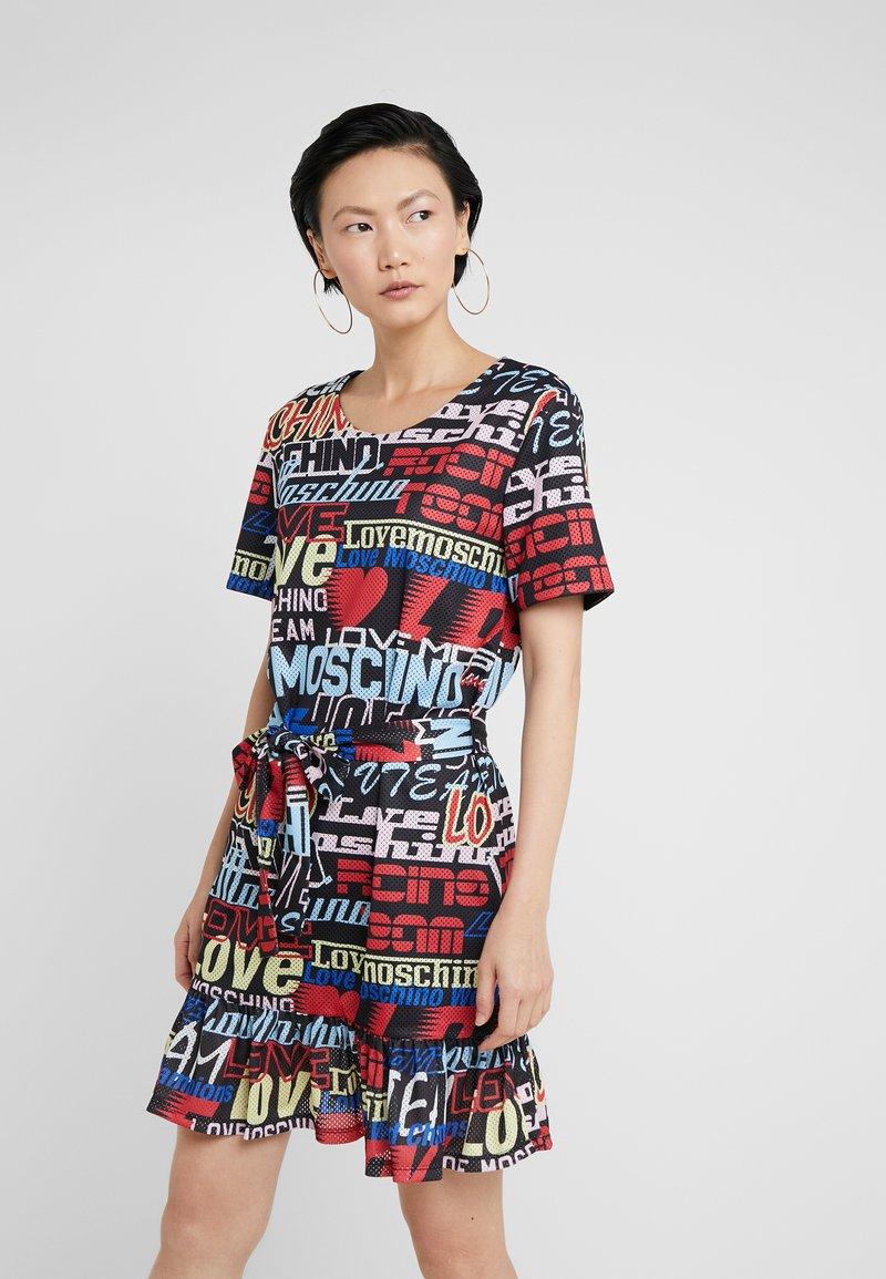 Love Moschino - Korte jurk - multi-coloured