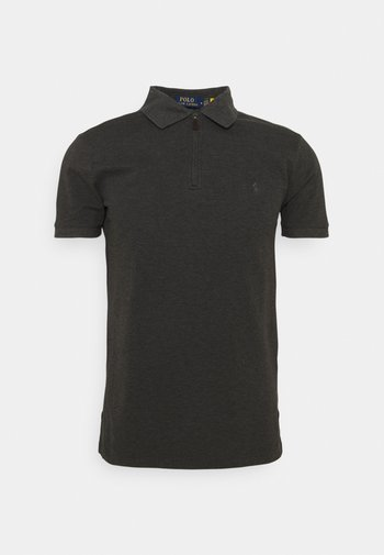SHORT SLEEVE - Poloshirt - dark grey heather