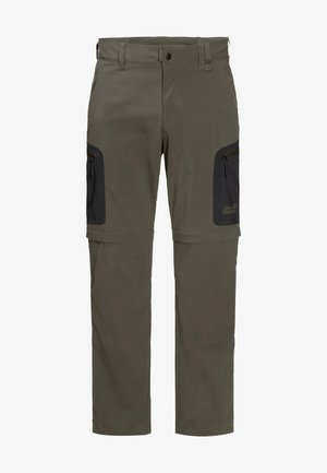 ACTIVATE LIGHT ZIP OFF - Outdoor trousers - grape leaf