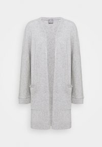 FTC Cashmere - CARDIGAN LONG - Cardigan - silver stone - 4