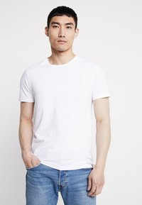 Levi's® - CREWNECK 2 PACK - T-shirts print - white/heather grey - 2