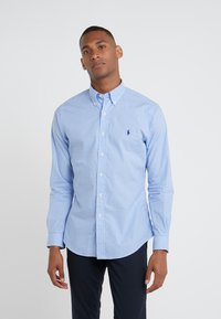 Polo Ralph Lauren - NATURAL SLIM FIT - Shirt - blue/white - 0