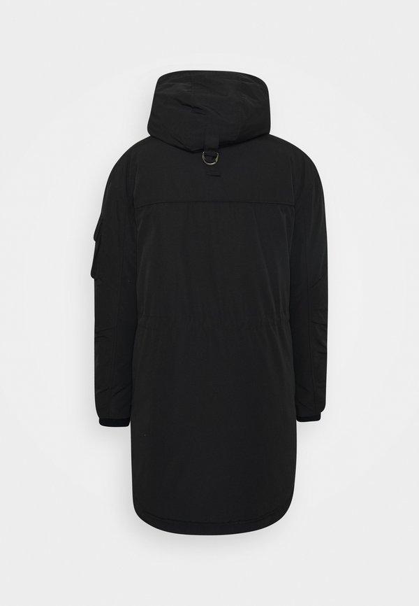 Tigha LIOM - Parka - black/czarny Odzież Męska FBHC