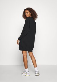 Calvin Klein Jeans - DRESS WITH CHEST LOGO - Day dress - black - 2