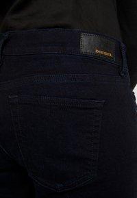 Diesel - D-EBBEY - Flared Jeans - indigo - 3