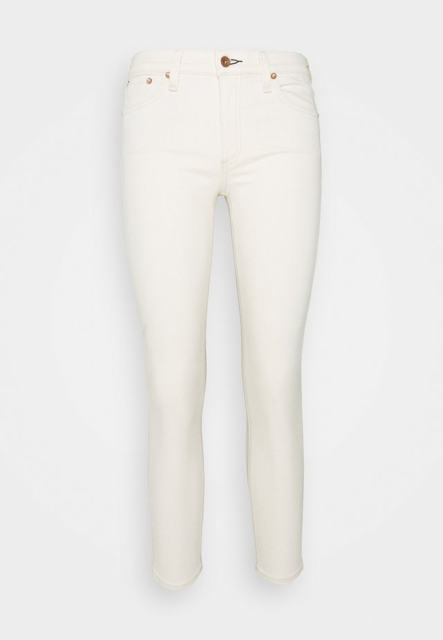 CATE MID RISE ANKLE  - Jeans Skinny Fit - ecru