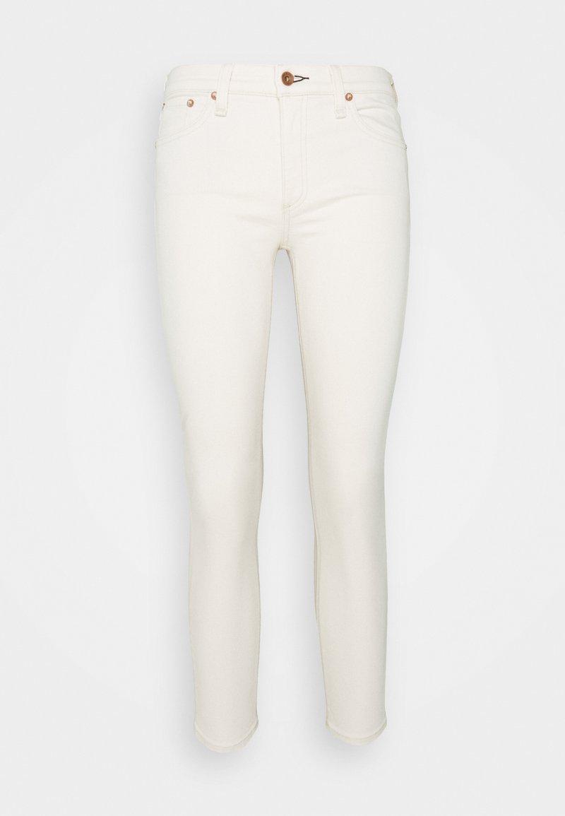 rag & bone - CATE MID RISE ANKLE  - Jeans Skinny Fit - ecru