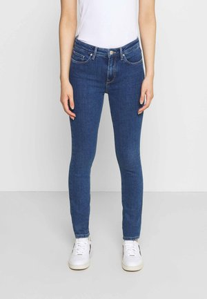 COMO CHRIS - Jeansy Skinny Fit - blue denim