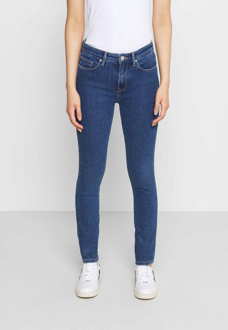 Tommy Hilfiger - COMO CHRIS - Jeans Skinny - blue denim