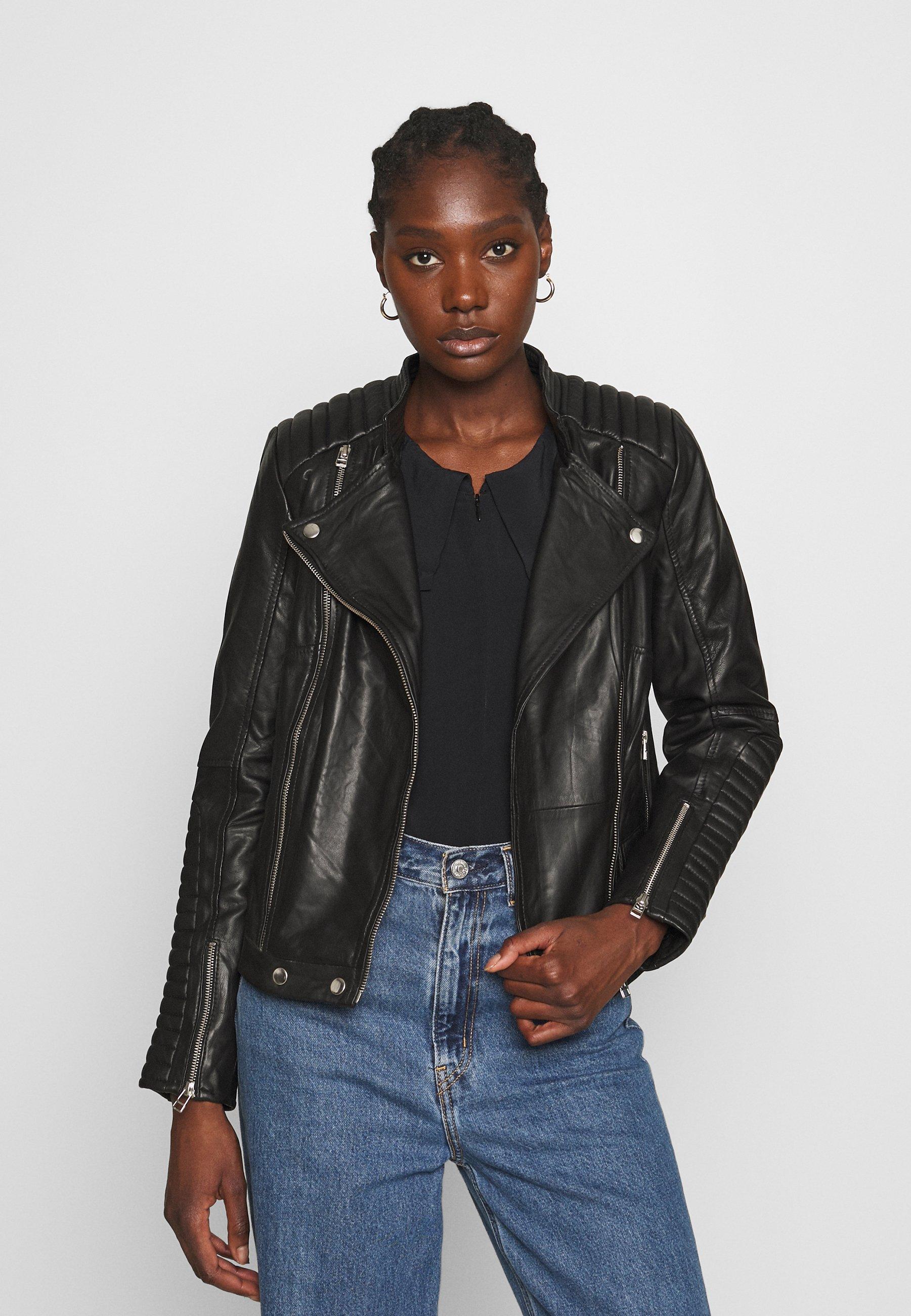 Women ELECTRA JACKET - Leather jacket
