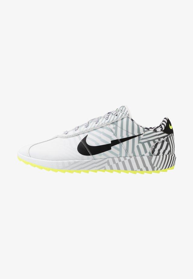 CORTEZ G NRG - Chaussures de golf - white /black/particle grey/volt