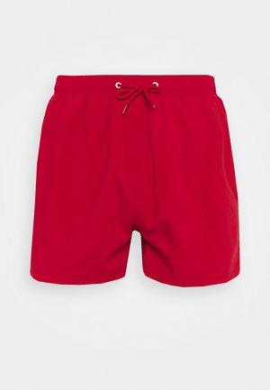 PEACHY SOFT BEACH SHORTS - Shorts da mare - red