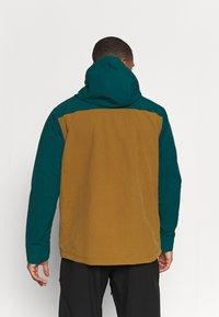 Patagonia - ISTHMUS ANORAK - Hardshell jacket - mulch brown - 2