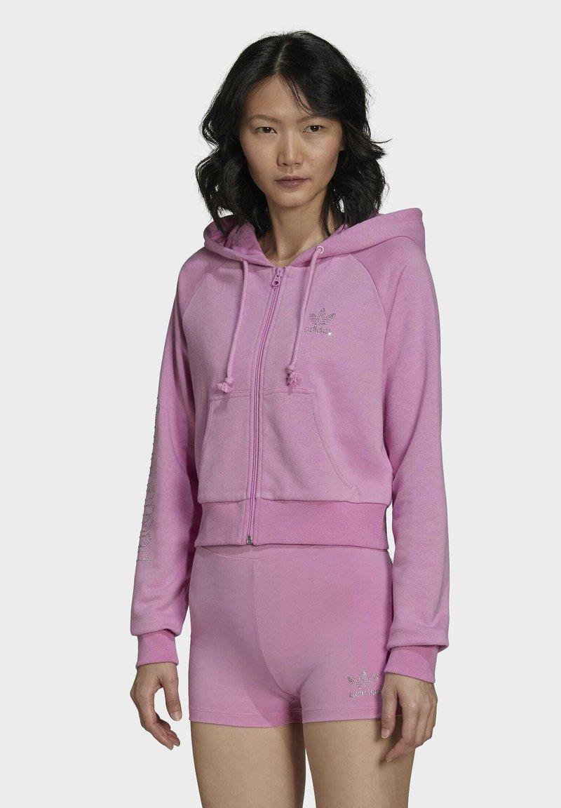 adidas Originals - Zip-up sweatshirt - pink