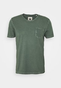 Marc O'Polo - SHORT SLEEVE RAW - Basic T-shirt - mangrove - 4