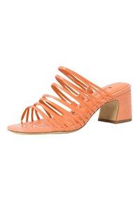 Tamaris - Klapki - peach neon - 4