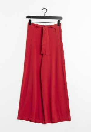Pantalones - red