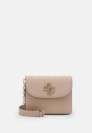 CHIC SHINE MINI CROSSBODY FLAP - Across body bag - blush