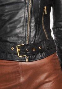 BTFCPH - EMMA - Leather jacket - black - 7