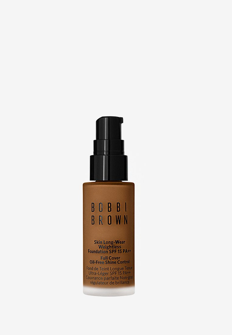 Bobbi Brown - MINI SKIN LONG-WEAR WEIGHTLESS FOUNDATION - Foundation - warm almond