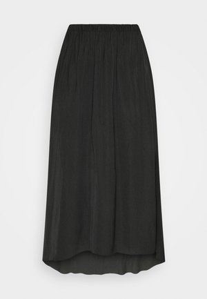 TANDRA - Pleated skirt - black