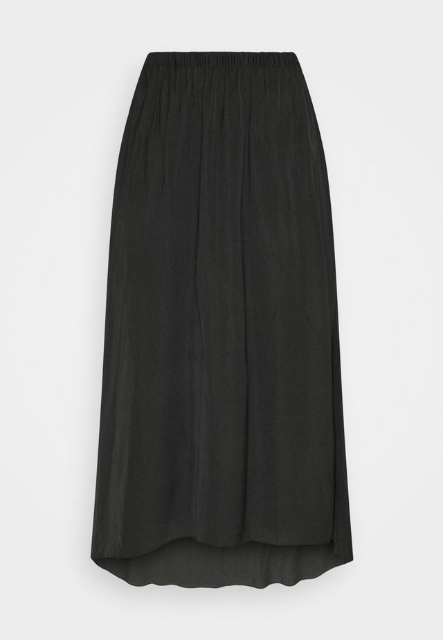 TANDRA - Jupe plissée - black