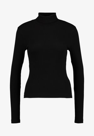 VERENA TURTLENECK - Long sleeved top - black