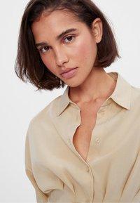 Bershka - Shirt dress - beige - 3