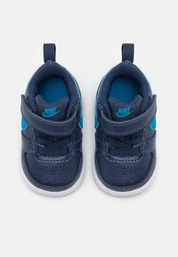 Nike Sportswear - COURT BOROUGH 2 UNISEX - Trainers - midnight navy/imperial blue/black - 3