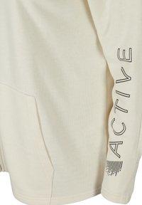 Active by Zizzi - Zip-up hoodie - beige - 5