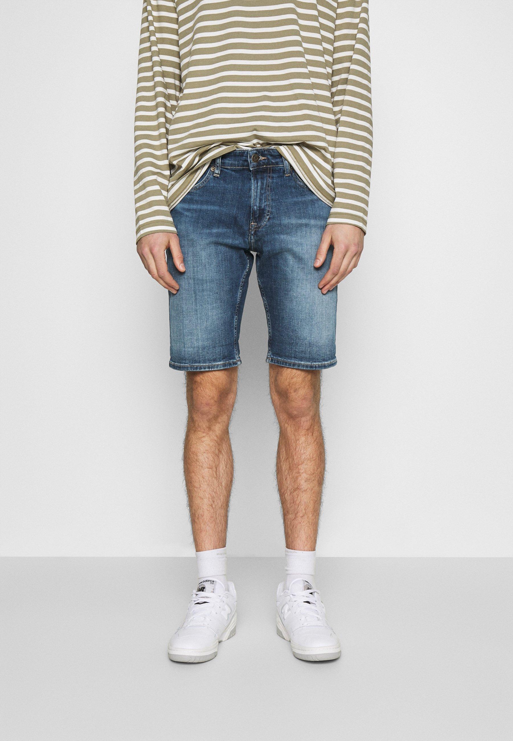 Homme SCANTON SLIM DENIM  - Short en jean - hampton