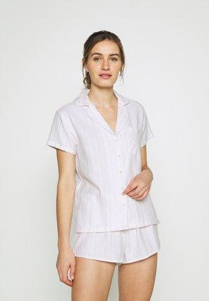 STRIPE SHORTIE IN A BAG SET - Pyjama - powder pink