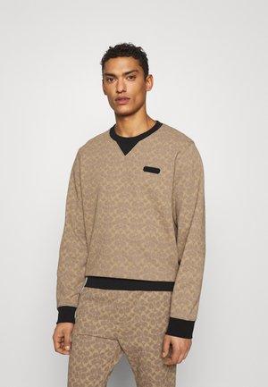 ESSENTIAL CREW NECK - Sweatshirt - tan