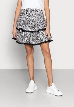 RENNA - Mini skirts  - anthracite black