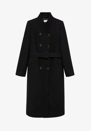 LUNA - Classic coat - zwart