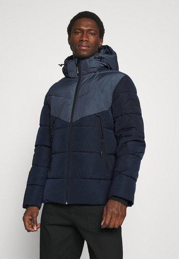 HEAVY PUFFER - Winter jacket - sky captain blue