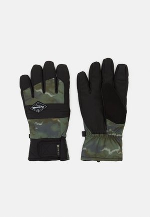 BRONCO GORE TEX GLOVE - Gloves - olive ashcroft camo/black