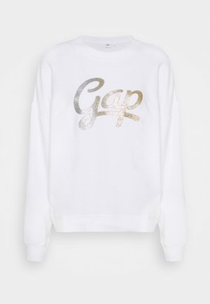 OMBRE - Sweatshirt - white