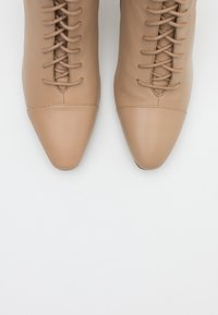 Zign - Lace-up ankle boots - sand - 5