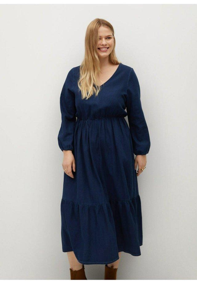 Denim dress - dunkelblau