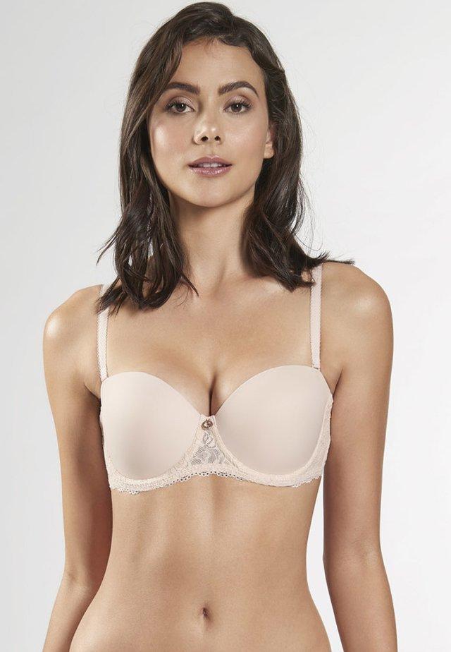 Underwired bra - summer nude