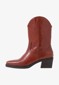 Vagabond - SIMONE - Cowboy/Biker boots - henna - 1