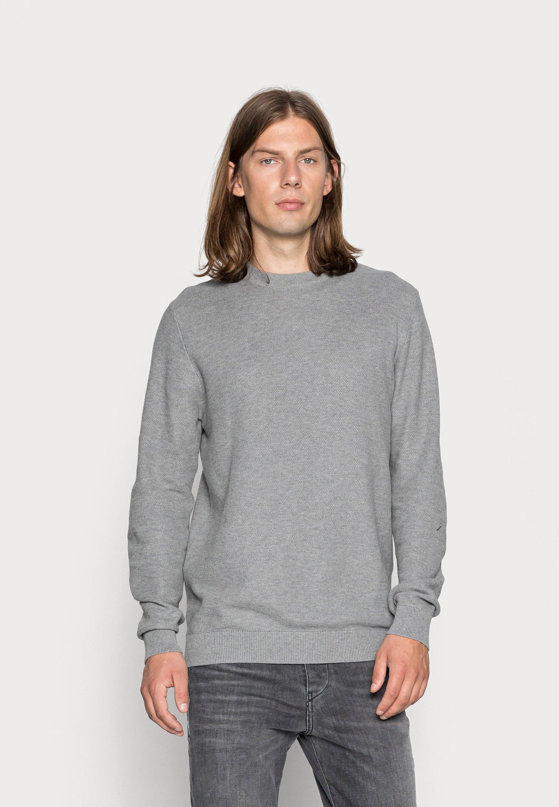 Homme HONEY  - Pullover - medium grey