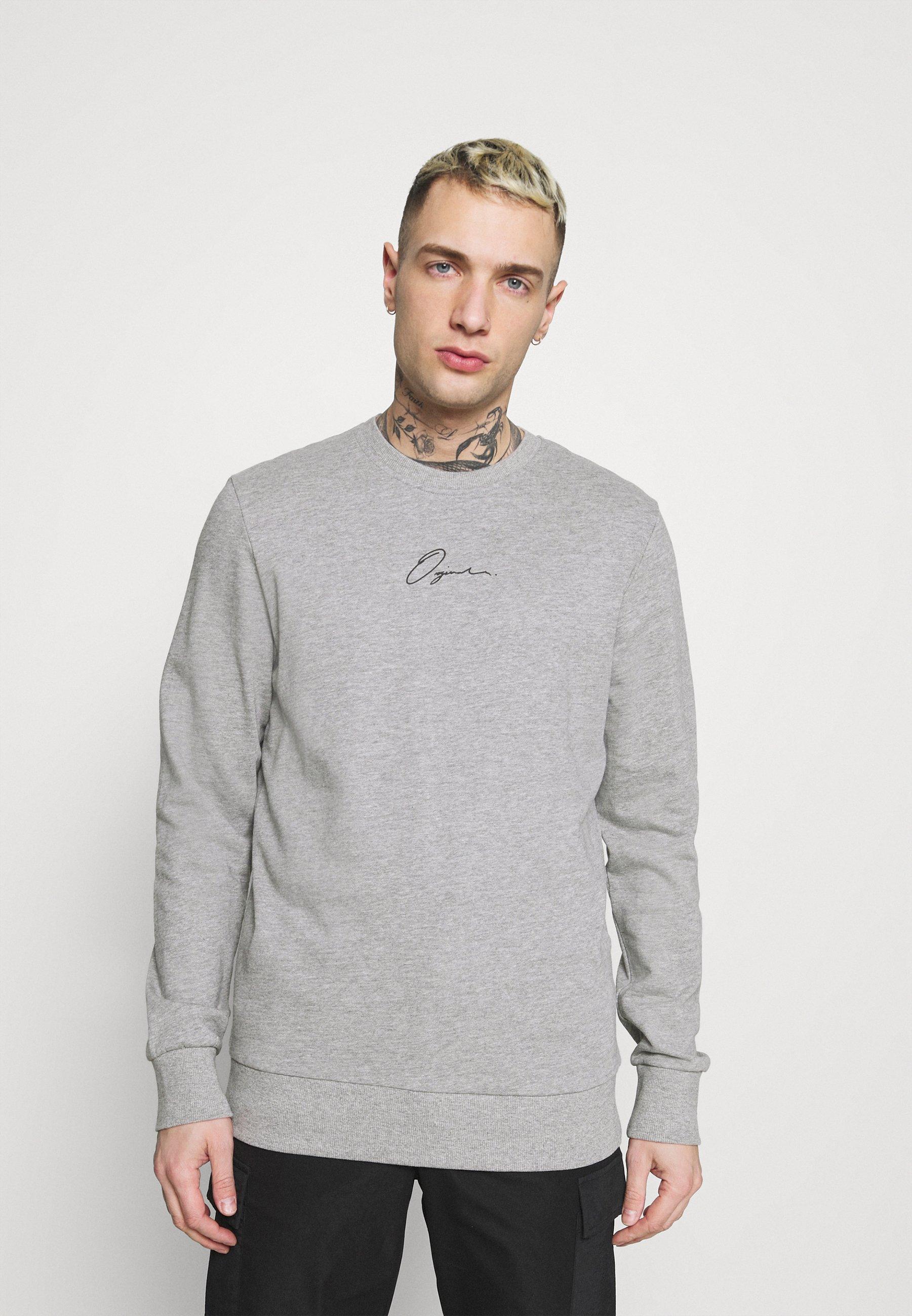 Men JORSCRIPTT CREW NECK - Sweatshirt
