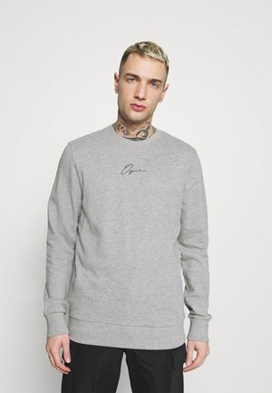JORSCRIPTT CREW NECK - Collegepaita - light grey melange