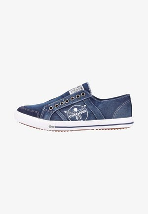 Slip-ons - navy washed