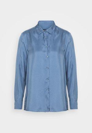 VADIER - Button-down blouse - azurblau
