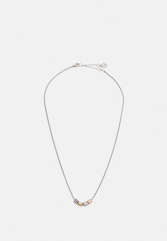 TRIPLE LAYERED - Necklace - silver-coloured
